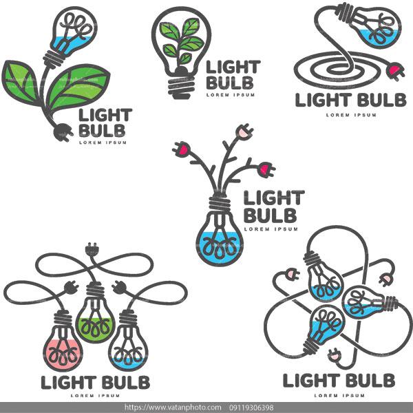 وکتور لامپ روشنایی