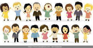 وکتور فلت کودکانه مهد کودک