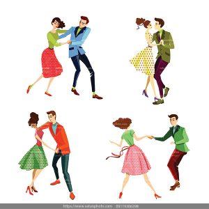 وکتور رقصیدن زن شوهر