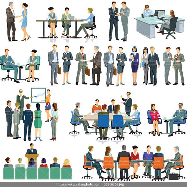 وکتور برگزاری جلسه وکتور کنفرانس
