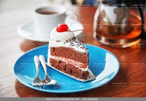 عکس کیک کاکائو میوه ای