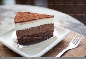 عکس کیک شکلات قهوه