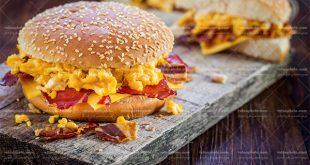 عکس ساندویچ صبحانه