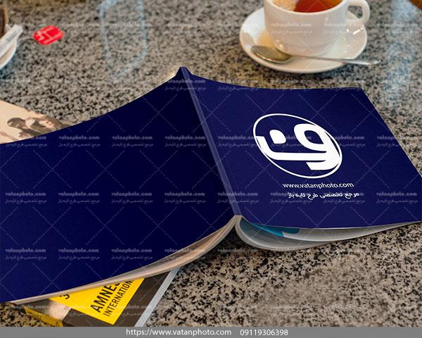 موکاپ جلد کتاب موکاپ جلد مجله