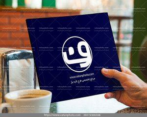 موکاپ جلد مجله
