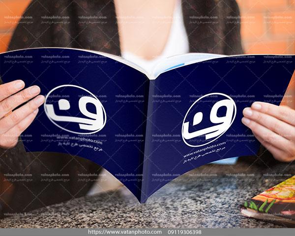 موکاپ کامل جلد کتاب