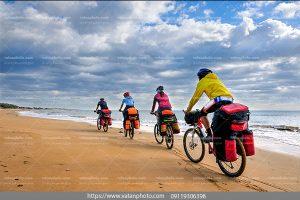 عکس جهان گردی بادوچرخه
