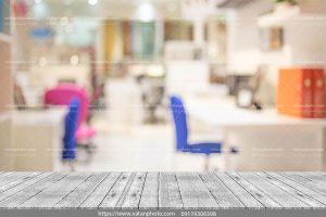 عکس طراحی مدرن دفتر کار