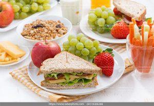 عکس صبحانه با میوه