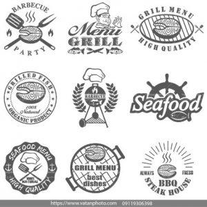 لوگو رستوران غذای دریایی