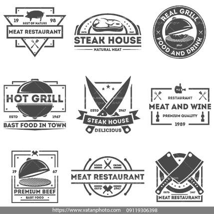 لوگو رستوران های برند جهان