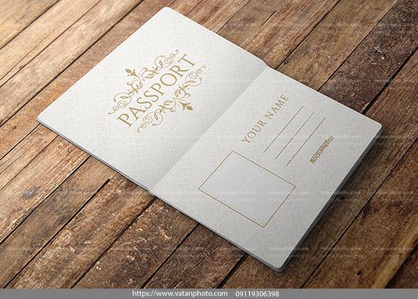 پیش نمایش صفحات داخلی پاسپورت