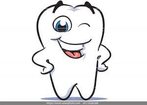 وکتور دندان خندان