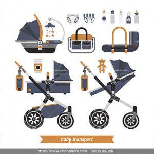وکتور تجهیزات نگهداری نوزاد