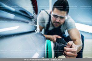 عکس صافکاری تخصصی خودرو