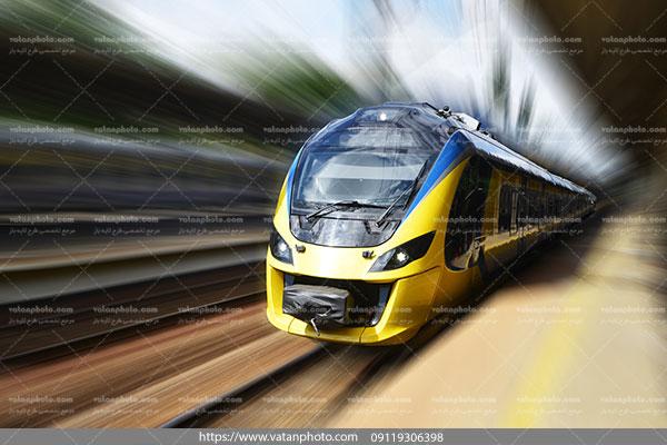 عکس قطار سریع السیر