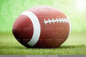 عکس توپ چرمی فوتبال آمریکایی