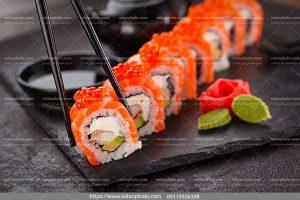 عکس سوشی تن ماهی