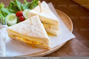 عکس صبحانه لغمه نیمرو عسلی