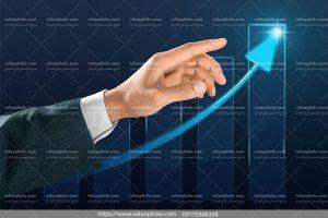 عکس نمودار پیشرفت دربیزینس