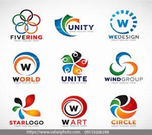 مجموعه وکتور لوگوهای تبلیغاتی معروف