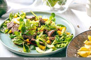 دانلود عکس واویشکای گوشت سبزیجات
