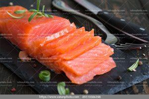 دانلود عکس ماهی قزل آلای سالمون
