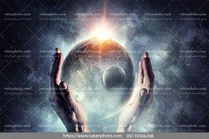 عکس زمین در فضا
