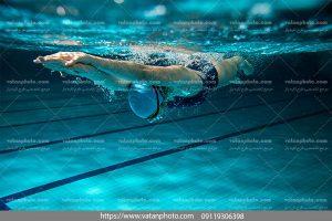 عکس شنا زیر آبی