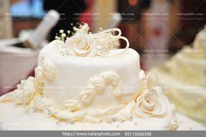 عکس کیک با طرح گل