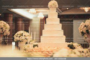 عکس کیک 7 طبقه عروسی