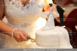 عکس کیک عروس و داماد
