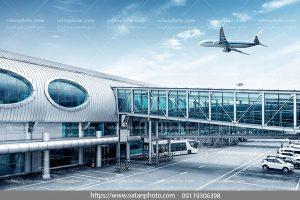 عکس هواپیما در فرودگاه