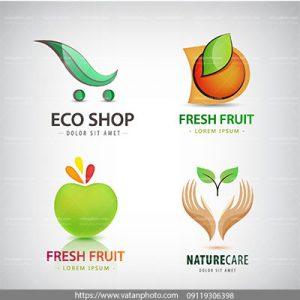 لوگو حفاظت از محیط زیست و فروشگاه سلامت