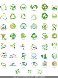 وکتور لوگو حفاظت محیط زیست