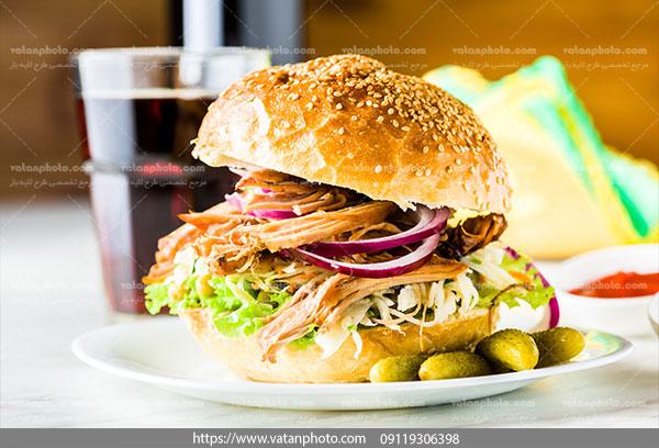 عکس با کیفیت ساندویچ