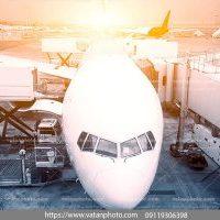 عکس هواپیما از نما جلو